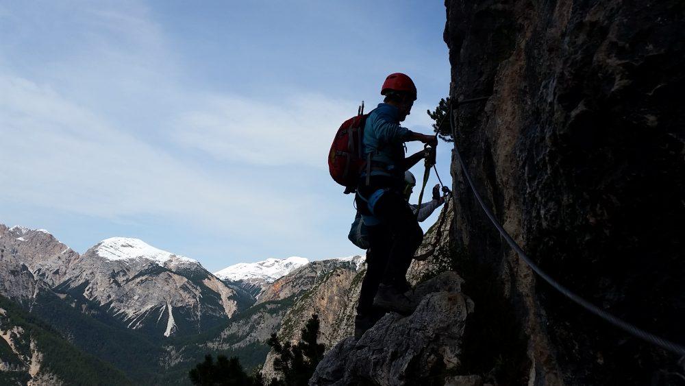 Klettersteig Dolomiten : Pisciadù einer der beliebtesten klettersteige in den dolomiten