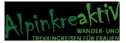 alpinkreaktiv.de - Gudrun Queitsch - Wanderreisen Trekkingreisen für Frauen Logo